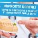 dentista con impronta dentale