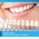Bocca sorridente e corone odontoiatriche