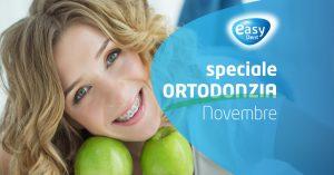 promo ortodonzia novembre apparecchio dentale