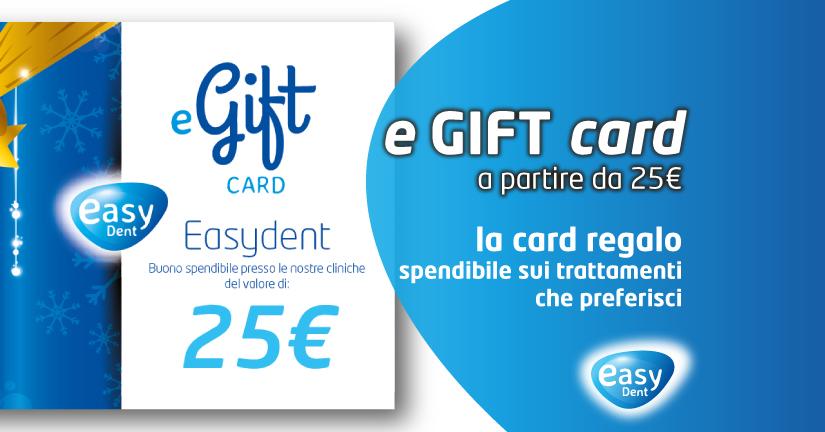 e gift card easydent regalo carta