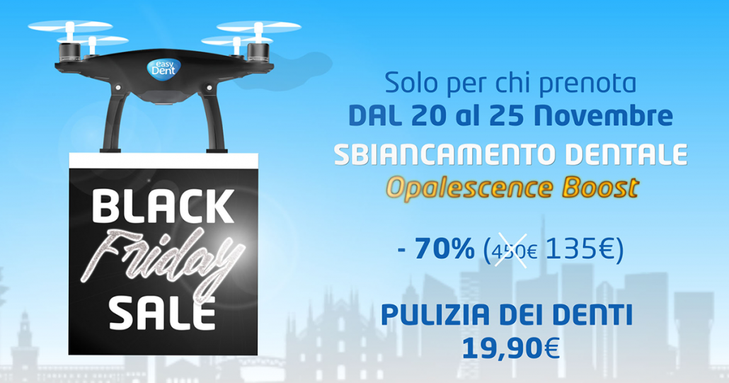 drone easydent - black friday