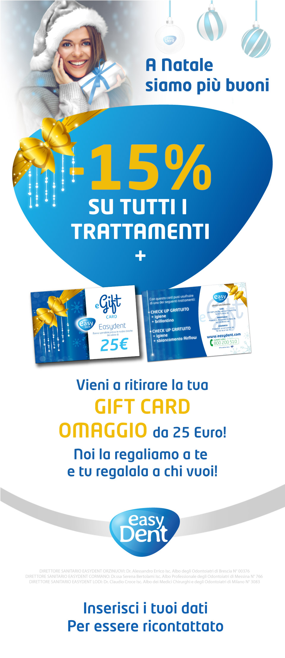 Easydent Promozione Natale