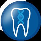 icona genetica odontoiatrica