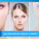 Immagine di donna con infografiche